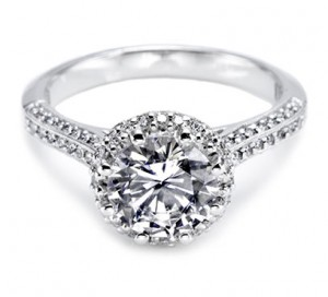 Tacori Round Diamond Ring