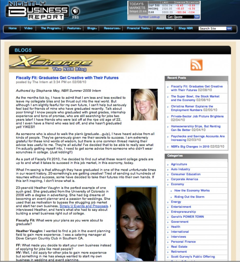 Simply U featured on Fiscally Fit blog