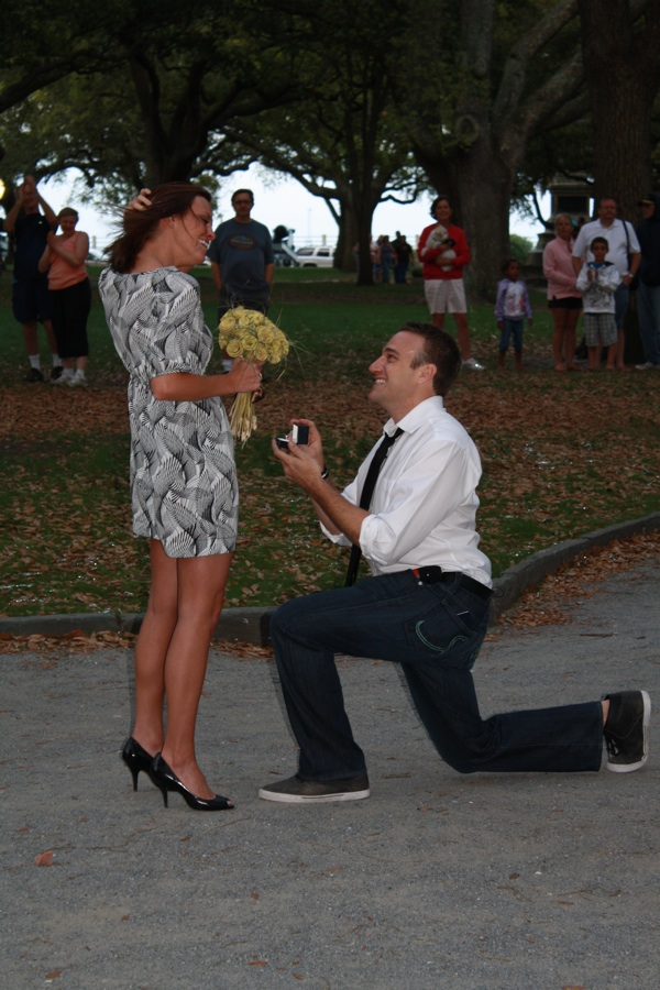 taylor proposing