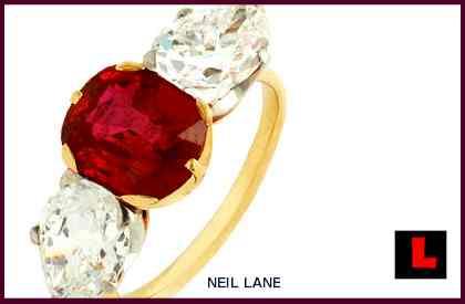 All Of Todayu0027s U201crocksu201d Are Inspired By Jessica Simpsonu0027s Ruby Engagement  Ringu2026