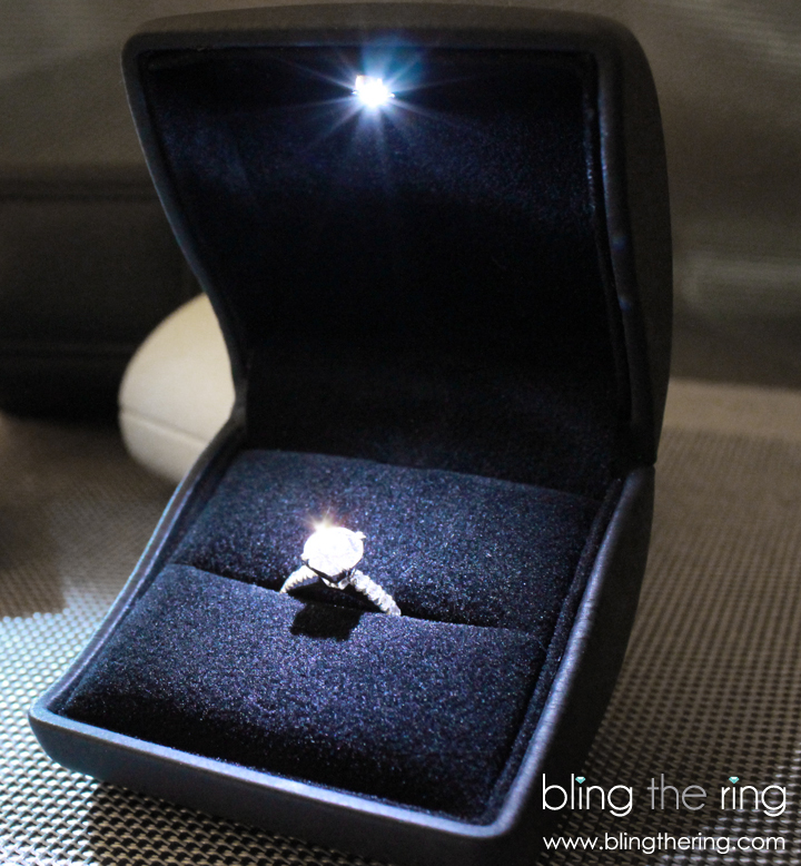 To Be Honest I Have Seen Some Pretty Tacky Lighted Engagement Ring Bo So The Idea Of Using One For A Marriage Proposal Wasn T My First Recommendation