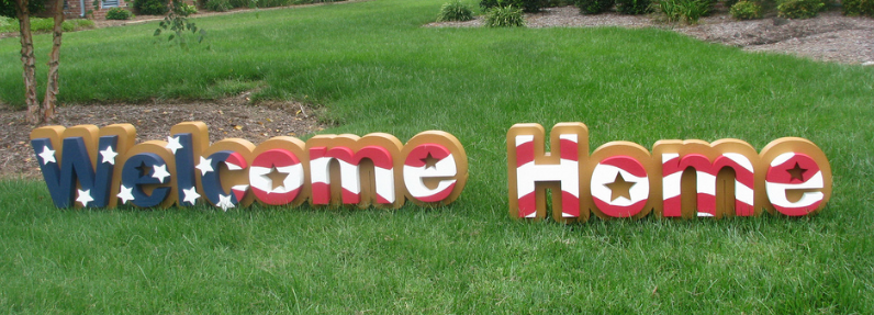 home signs ideas welcome home signs the yes girls