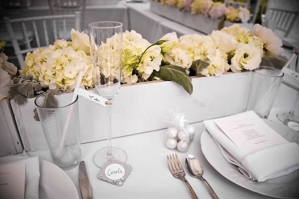37a614b996c Classic White Martha Stewart Inspired Bridal Shower - The Yes Girls ...