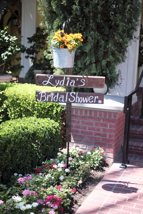 southern bridal shower