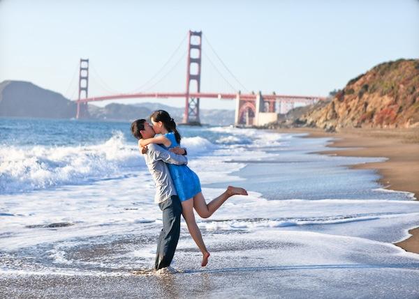 James Iris Baker Beach San Francisco Marriage Proposal The Yes Girls