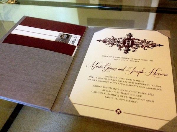 Elegant Purple Silver Wedding Invitations The Yes Girls