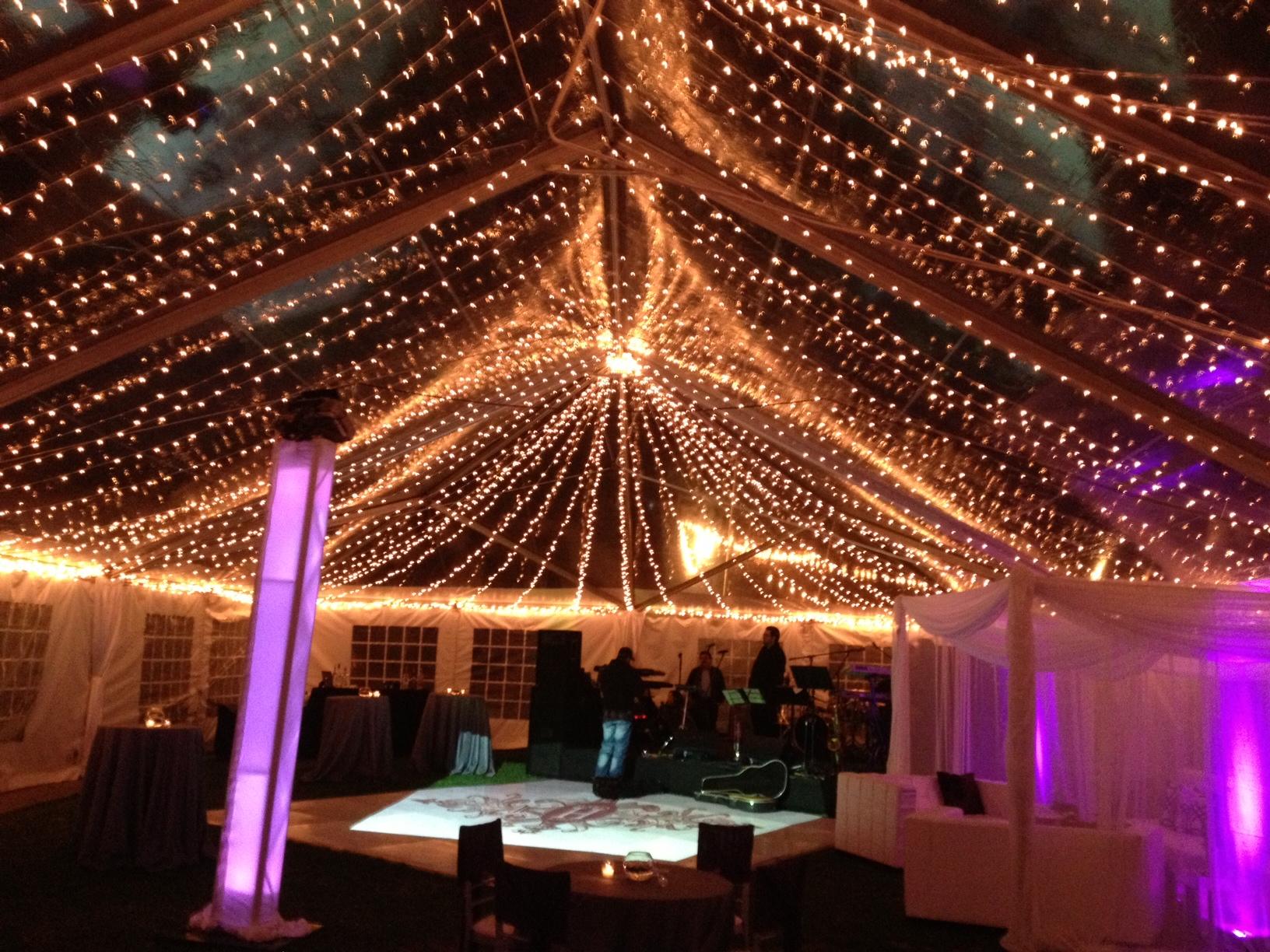 Sneak Peek Clear Tent Wedding The Yes Girls