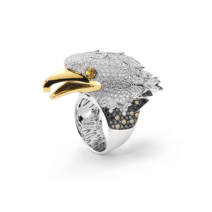 Coin Eagle Ring