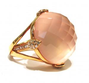 Alan Diamonds Peach Ring