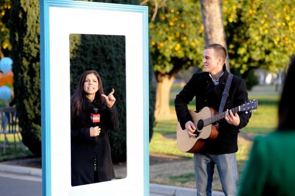 good day sac proposal singing