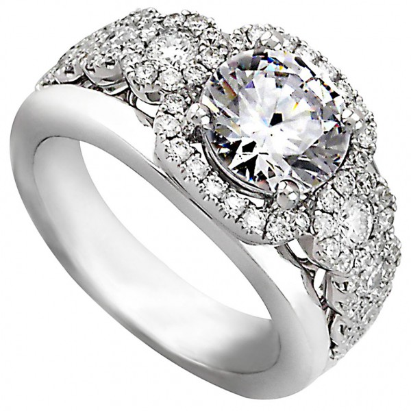 Frederic Sage Bridal Ring