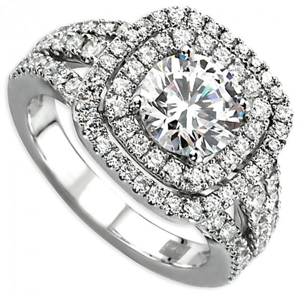 Frederic Sage Bridal Ring