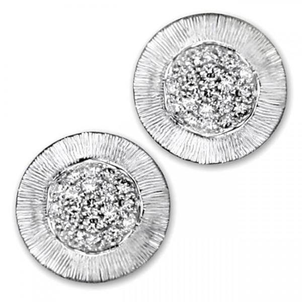 Frederic Sage Diamond Earrings