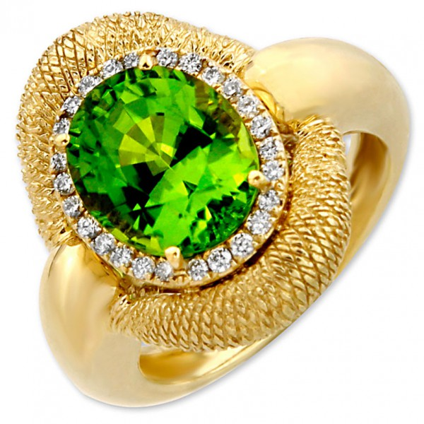 Frederic Sage Green Ring