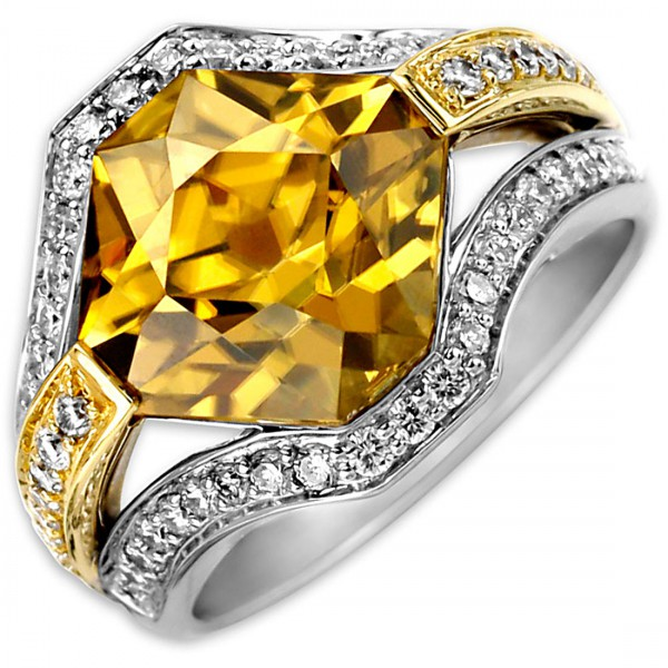 Frederic Sage Yellow Fashion Ring