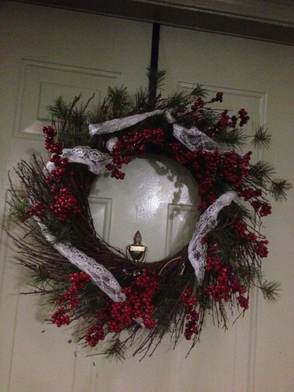 Christmas Wreath by The Yes Girls