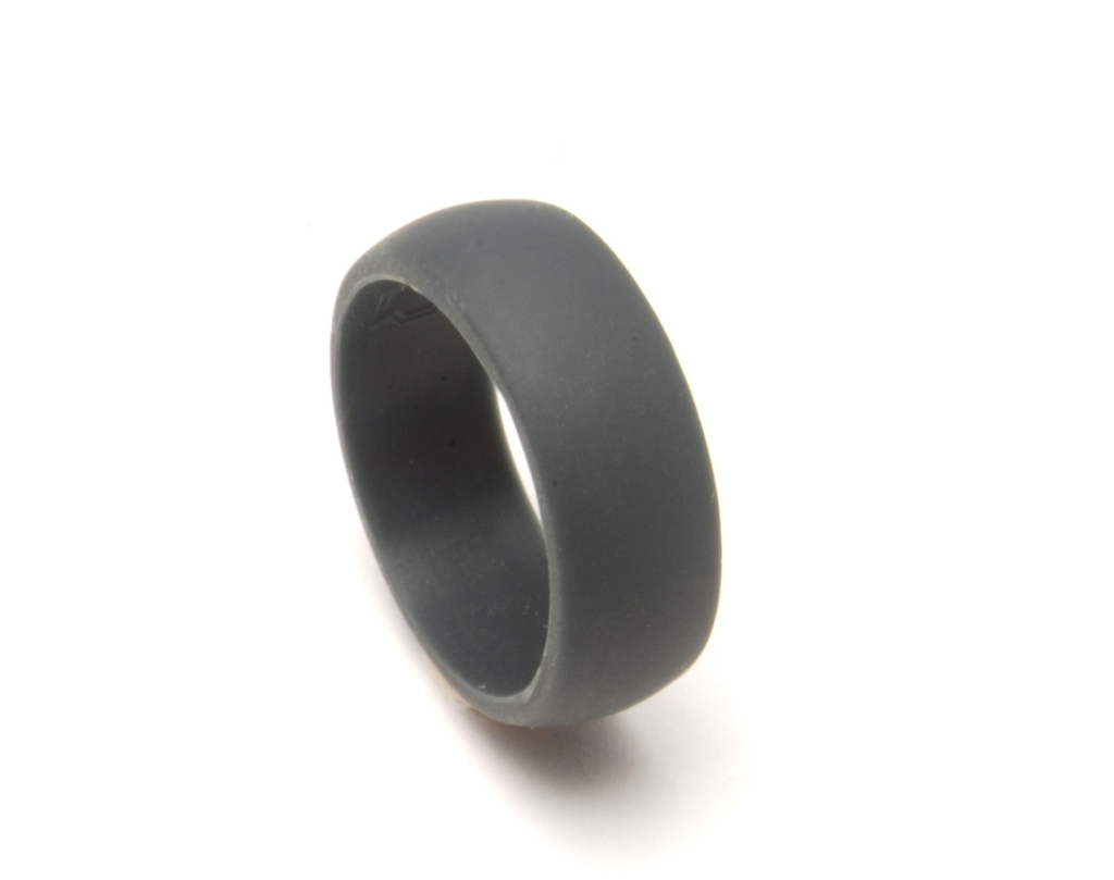 """Rubber Band Wedding Rings >> Friday """"Rocks""""! featuring QALO Ring 